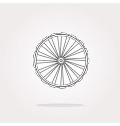 Wheel Icon  Wheel Icon Object Wheel Icon vector image