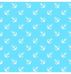 Anchor Seamless Pattern Background vector image vector image