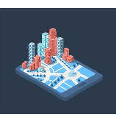Big city vector