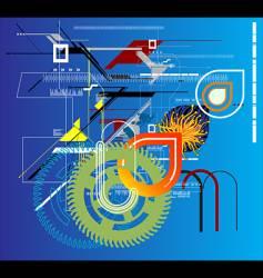 computer virus vector image