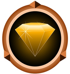 gemstone vector image