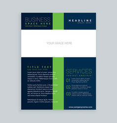 Simple brochure cover flyer template design for vector