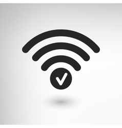 Creative wifi attention vector