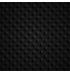 dark 3d paper pattern vector image vector image