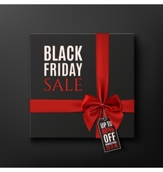 Black Friday Sale conceptual background vector image vector image