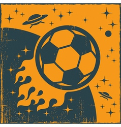 Space Ball vector image