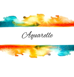 Watercolor splash sale vector