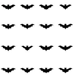 Bat icon set vector