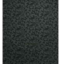 Black vintage seamless pattern vector image
