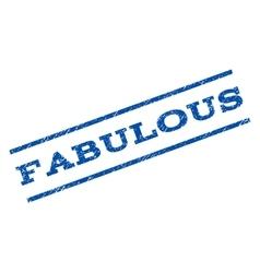 Fabulous watermark stamp vector