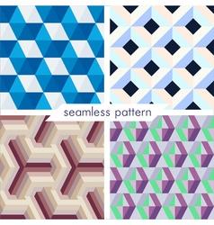 Seamless pattern set 6 vector