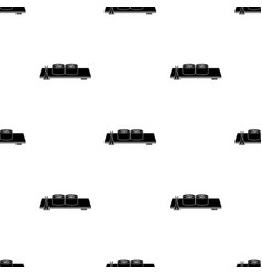 sushi icon in black style isolated on white vector image vector image
