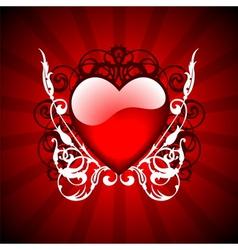 valentine day illustration vector image vector image