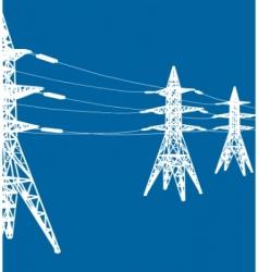 Vector power line vector
