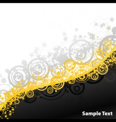 party explosions retro banner vector image