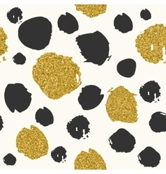 Trendy spot color seamless pattern vector