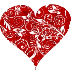 valentines day background vector vector image
