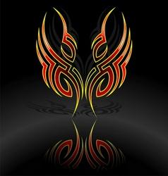 tattoo votive vector image