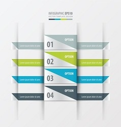 Design layout banner green blue gray color vector