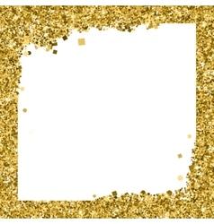 Abstract modern gold banner templates vector
