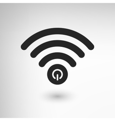 Creative wifi power vector
