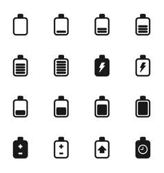 Battery an icon2 vector