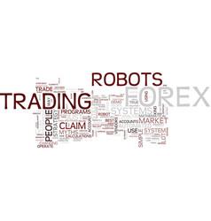 Forex robot myths
