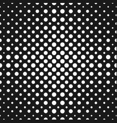 halftone dots seamless pattern halftone circles vector image vector image