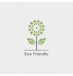 Ecological logo vector