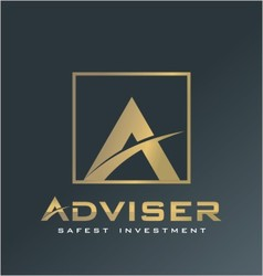 Finance logo adviser symbol advice icon vector image vector image