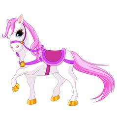 Princess horse vector