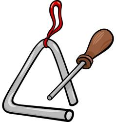 triangle percussion clip art cartoon vector image