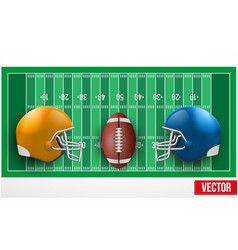 Background of competition in american football vector