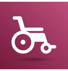 Disabled icon sign wheelchair handicap vector