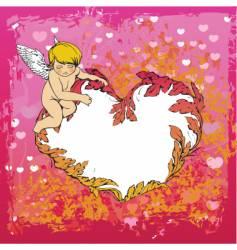 angel illustration vector image vector image
