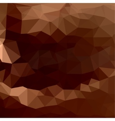 Brown chocolate of abstract triangles vector image