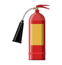 Fire extinguisher fire equipment vector