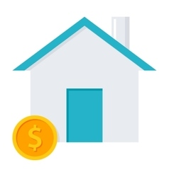 Home Loan Concept vector image vector image