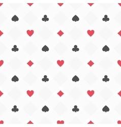 casino seamless pattern vector image