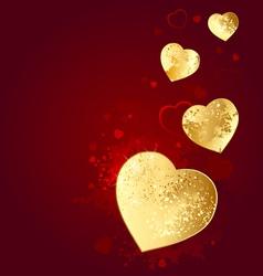 Foil heart vector