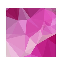 Fashion fuchsia pink abstract low polygon vector