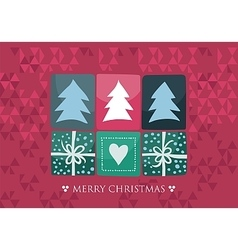 Xmas Seasonal Card vector image
