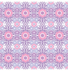ornamental floral seamless wallpaper vector image
