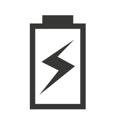 Charging battery status isolated icon design vector