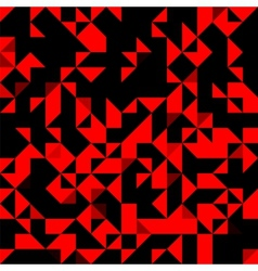 Abstract Red Bright Background vector image