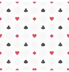 casino seamless pattern vector image vector image