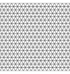 Geometric latticed texture vector image vector image