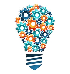 Industrial innovation concept vector image