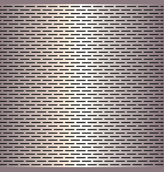 Metallic pattern background vector