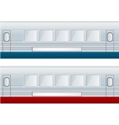 Train Car vector image vector image